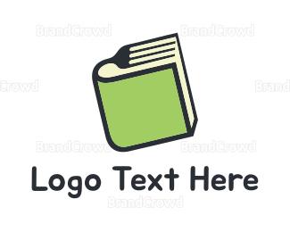 Recipe - Food Book logo design