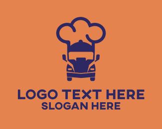 Food Truck - Chef Food Truck logo design
