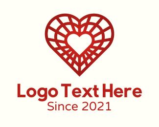 Valentines Day - Decoration Valentine Heart logo design