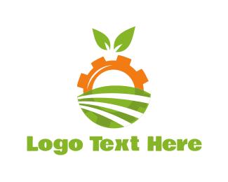 Agriculture - Agriculture Engine logo design