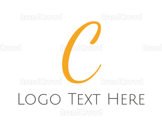 Fortune - Elegant Gold Letter C logo design