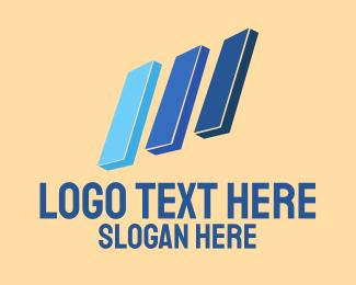 Chart - Marketing Chart logo design