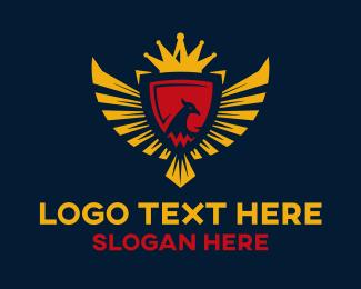 """Royal Eagle Emblem"" by radkedesign"