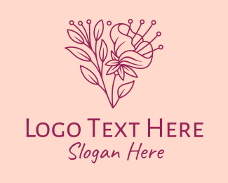 Daffodil - Daffodil Flower Blooming logo design