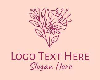 Bloom - Daffodil Flower Blooming logo design