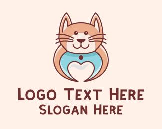 Hellcat - Cute Lovely Cat  logo design