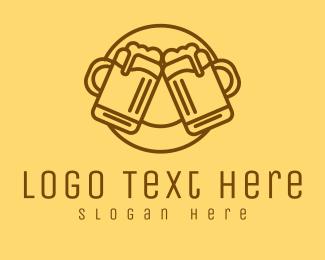 Alcohol - Beer Mug Cheers logo design