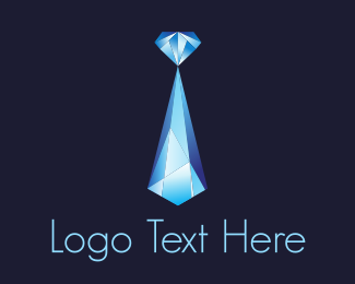 """Blue Crystal Diamond "" by Logobrary"