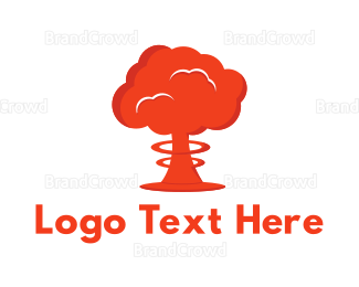 Exciting - Mushroom Cloud logo design