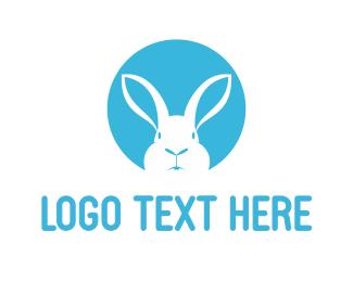 Salad Bar - White Rabbit logo design