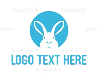 White - White Rabbit logo design