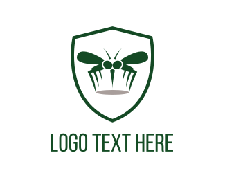 Pest Control - Mosquito Shield logo design