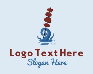 Seafood - Seafood Skewer Restaurant logo design