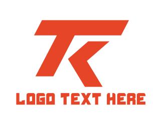 Racing - Automotive T & K logo design