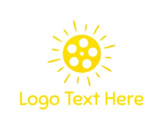 Sun - Sun Reel logo design