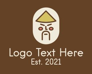 Character - Asian Man Character logo design