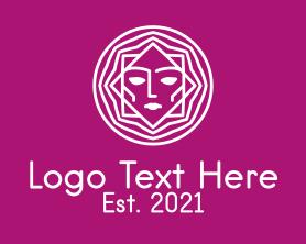 Beauty - White Woman Cosmetology logo design