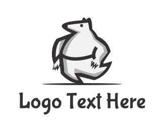 Polar - Bear Dancer logo design