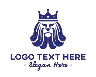 Insurance Agency - Royal Lion Crown logo design