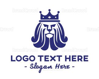 Monarchy - Royal Lion Crown logo design