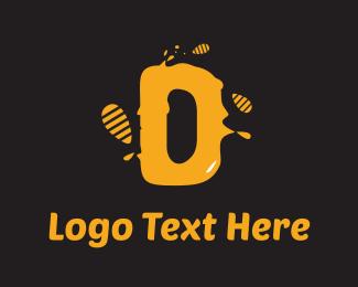 Pollen - Honey D logo design