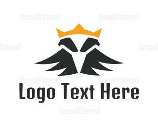 Double - Double Eagle Crown logo design