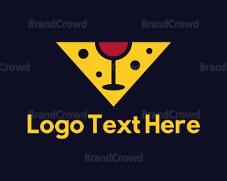 Wine - Cheese & Wine logo design