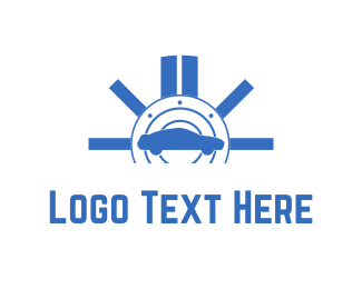 Insurance - Blue Car logo design