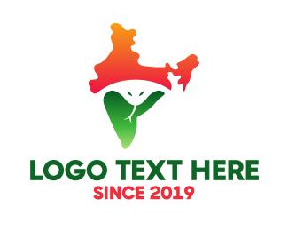 Travel - Indian Cobra logo design