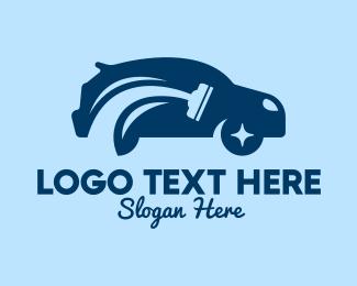 Wash - Modern Car Wash  logo design
