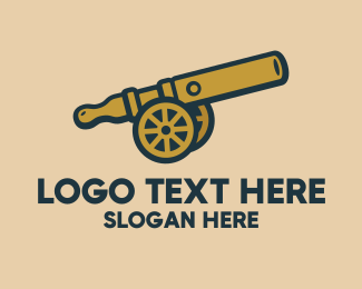 Cigar - Vape Cannon logo design