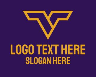 Heroic - Heroic Letter V logo design