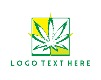 Marijuana - Cannabis Plant  logo design