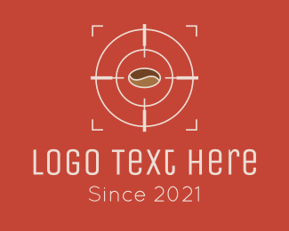 Security - Coffee Bean Target logo design