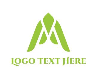 Liberty - Green Swallow logo design