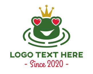Prince - Love Frog logo design