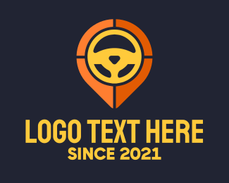 Wheel - Steering Wheel Location logo design