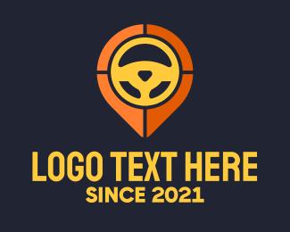 Wheel - Steering Wheel Location logo design