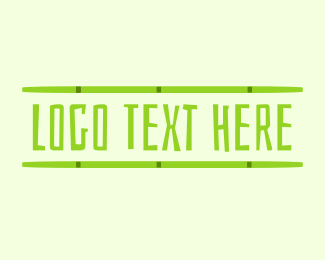 Bamboo - Beach Bamboo logo design