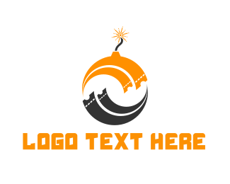 Explosion - Ticket Bomb logo design