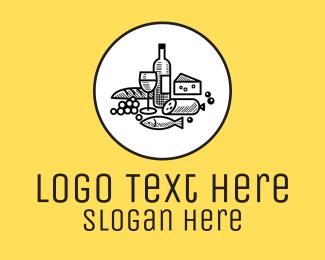 Delicatessen - Delicatessen Food logo design