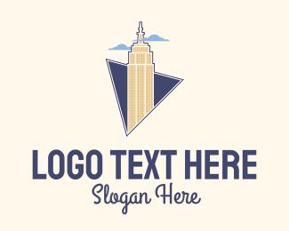 Building Maintenance - Empire State Building logo design