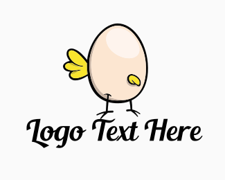 Cartoonish - Chicken Egg logo design