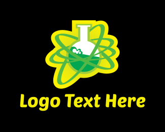 Molecule - Toxic Chemistry  logo design