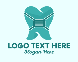 Surgical Mask - Dental Face Mask  logo design