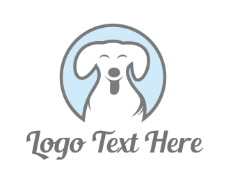 Friend - Happy Dog logo design