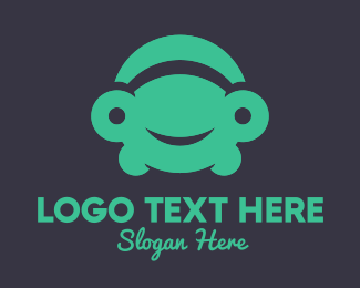 Ridesharing - Turtle Car logo design