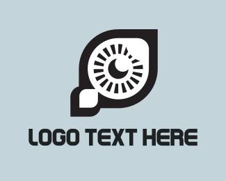 Rocket Eye Logo