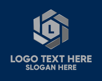 Metallic - Metallic Hexagon Lettermark logo design