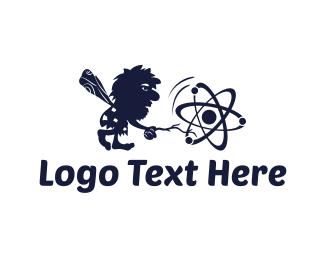 Molecule - Primitive Science logo design
